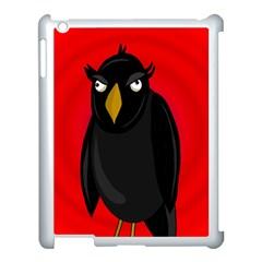 Halloween - old raven Apple iPad 3/4 Case (White)