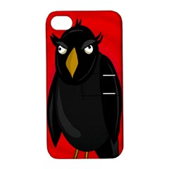 Halloween - old raven Apple iPhone 4/4S Hardshell Case with Stand