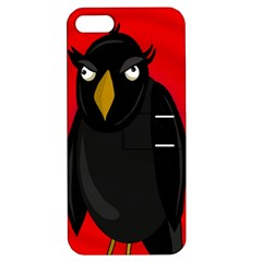 Halloween - old raven Apple iPhone 5 Hardshell Case with Stand
