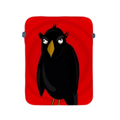 Halloween - old raven Apple iPad 2/3/4 Protective Soft Cases
