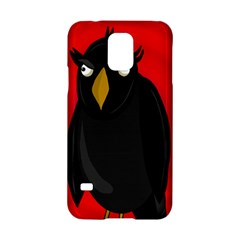 Halloween - old raven Samsung Galaxy S5 Hardshell Case