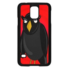 Halloween - old raven Samsung Galaxy S5 Case (Black)