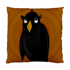 Halloween - old black rawen Standard Cushion Case (Two Sides)
