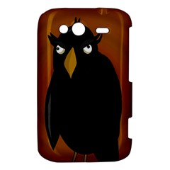 Halloween - old black rawen HTC Wildfire S A510e Hardshell Case