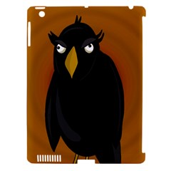 Halloween - old black rawen Apple iPad 3/4 Hardshell Case (Compatible with Smart Cover)
