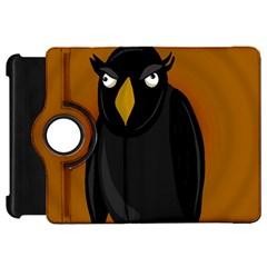 Halloween - old black rawen Kindle Fire HD Flip 360 Case