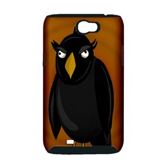 Halloween - old black rawen Samsung Galaxy Note 2 Hardshell Case (PC+Silicone)