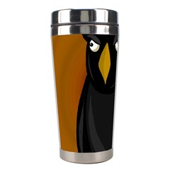 Halloween - old black rawen Stainless Steel Travel Tumblers