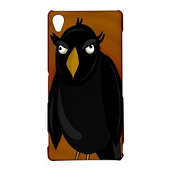 Halloween - old black rawen Sony Xperia Z3
