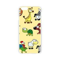 Animal Graphic Group Of Animals Apple Seamless iPhone 6/6S Case (Transparent)
