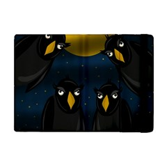 Halloween - black crow flock Apple iPad Mini Flip Case