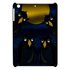 Halloween - black crow flock Apple iPad Mini Hardshell Case