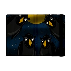 Halloween - black crow flock iPad Mini 2 Flip Cases