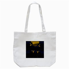 Halloween - black crow flock Tote Bag (White)