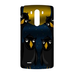 Halloween - black crow flock LG G3 Back Case