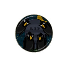 Halloween - RIP Hat Clip Ball Marker (4 pack)