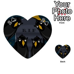 Halloween - RIP Playing Cards 54 (Heart)