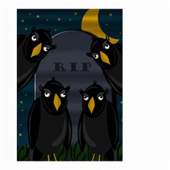 Halloween - RIP Small Garden Flag (Two Sides)