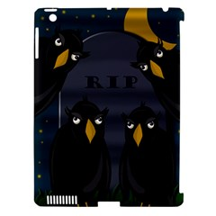 Halloween - RIP Apple iPad 3/4 Hardshell Case (Compatible with Smart Cover)