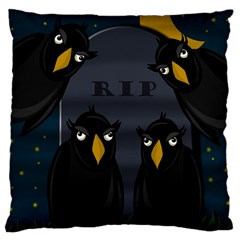 Halloween - RIP Large Cushion Case (Two Sides)