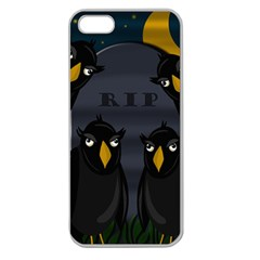 Halloween - RIP Apple Seamless iPhone 5 Case (Clear)
