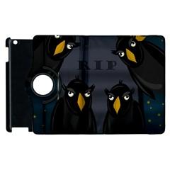 Halloween - RIP Apple iPad 2 Flip 360 Case