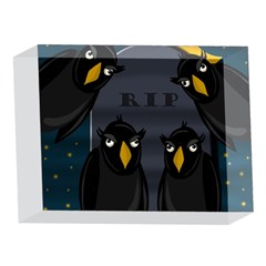 Halloween - RIP 5 x 7  Acrylic Photo Blocks