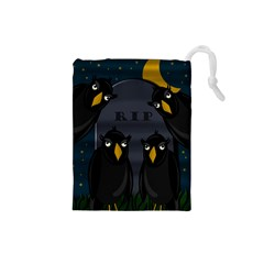 Halloween - RIP Drawstring Pouches (Small)