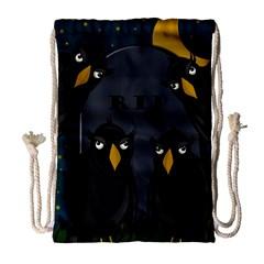 Halloween - RIP Drawstring Bag (Large)