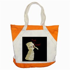 Halloween mummy   Accent Tote Bag