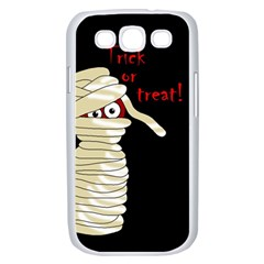 Halloween mummy   Samsung Galaxy S III Case (White)
