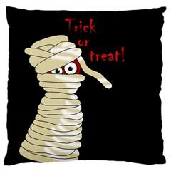 Halloween mummy   Large Cushion Case (One Side)