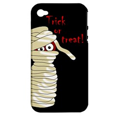 Halloween mummy   Apple iPhone 4/4S Hardshell Case (PC+Silicone)