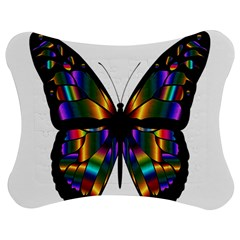 Abstract Animal Art Butterfly Jigsaw Puzzle Photo Stand (Bow)