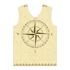 Compass Vintage South West East Men s Basketball Tank Top
