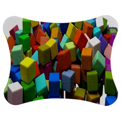 Cubes Assorted Random Toys Jigsaw Puzzle Photo Stand (Bow)