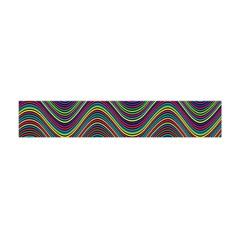 Decorative Ornamental Abstract Flano Scarf (Mini)