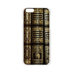 Detail Golden Gold Ornaments Apple Seamless iPhone 6/6S Case (Transparent)