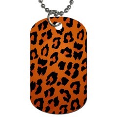 Leopard Patterns Dog Tag (one Side)