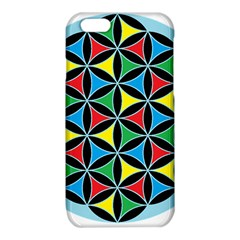 Flower Of Life 4 Color Triangles iPhone 6/6S TPU Case