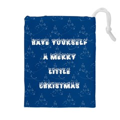 Little Christmas Drawstring Pouch (XL)