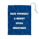 Little Christmas Drawstring Pouch (XL) Front