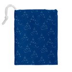 Little Christmas Drawstring Pouch (XL) Back
