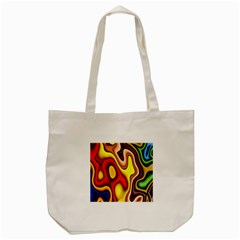 Pattern Background Structure Tote Bag (Cream)