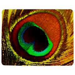 Peacock Feather Eye Jigsaw Puzzle Photo Stand (Rectangular)