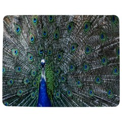 Peacock Four Spot Feather Bird Jigsaw Puzzle Photo Stand (Rectangular)