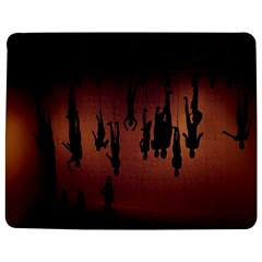 Silhouette Of Circus People Jigsaw Puzzle Photo Stand (Rectangular)