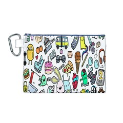 Story Of Our Life Canvas Cosmetic Bag (M)
