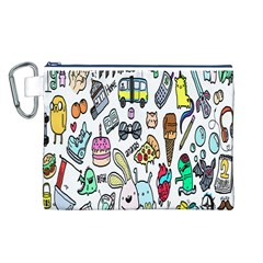 Story Of Our Life Canvas Cosmetic Bag (L)