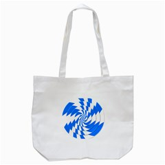 Swirl Tote Bag (White)